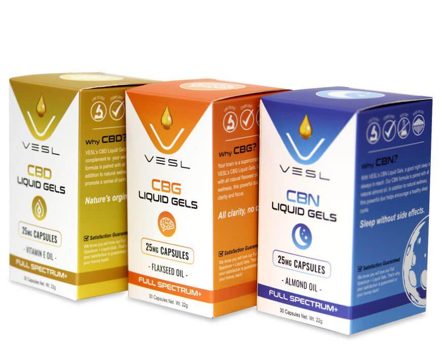 CBN liquid Gels All Flavors