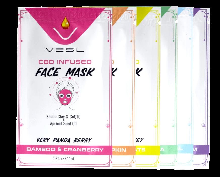 CBD Face masks collection