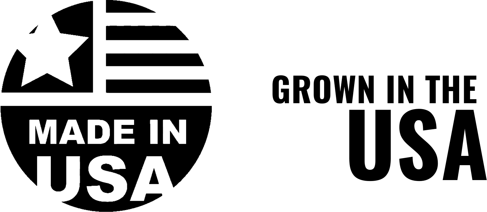 Grown in the USA Badge