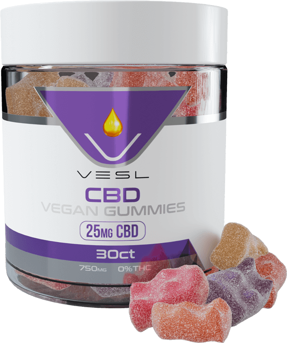 CBD Vegan Gummies 30ct