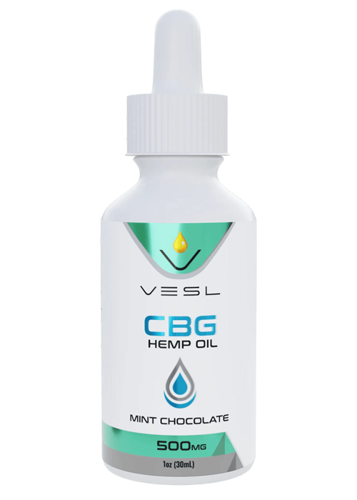 CBG Hemp Oil Mint Chocolate Flavor 500mg