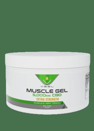 CBD Muscle Gel 5000mg