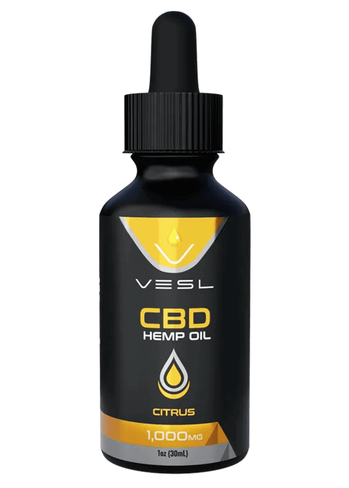 CBD Hemp Oil Citrus Flavor 1000mg
