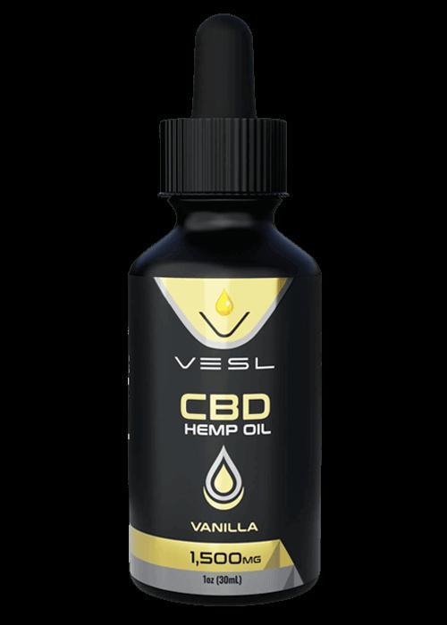 CBD Hemp Oil Vanilla flavor 1500mg