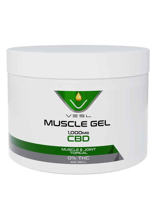 CBD Muscle Gel 1000mg