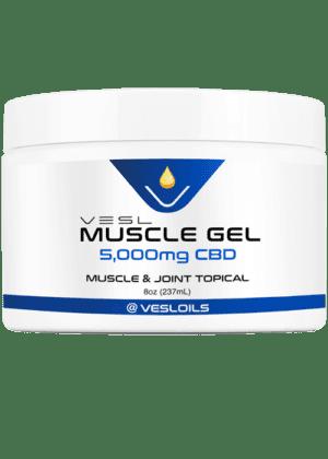 CBD Muscle Gel 5000mg Extra Strength