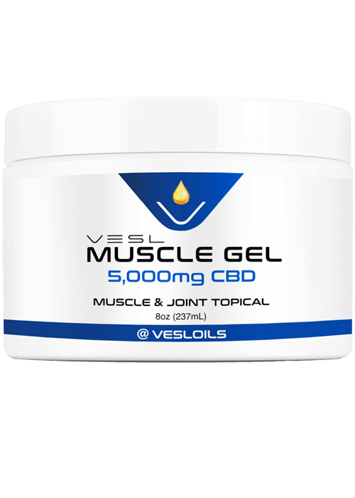 CBD Muscle Gel 5000mg Extra Strength