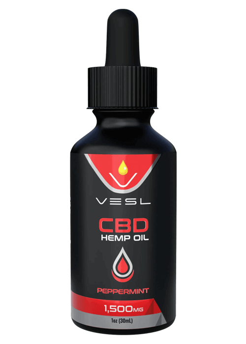 CBD Oil Peppermint flavor 1500mg