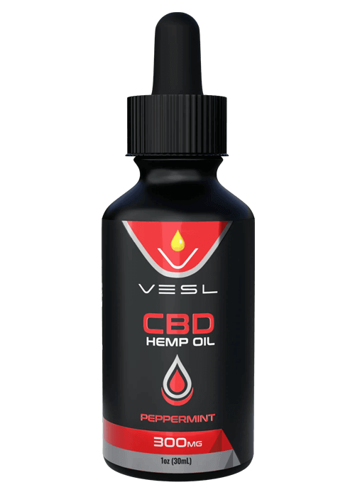 CBD Hemp Oil Peppermint flavor 300mg