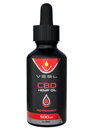 CBD Oil Peppermint flavor 500mg