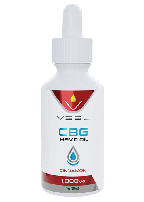 CBD Hemp Oil Cinnamon Flavor 1000mg