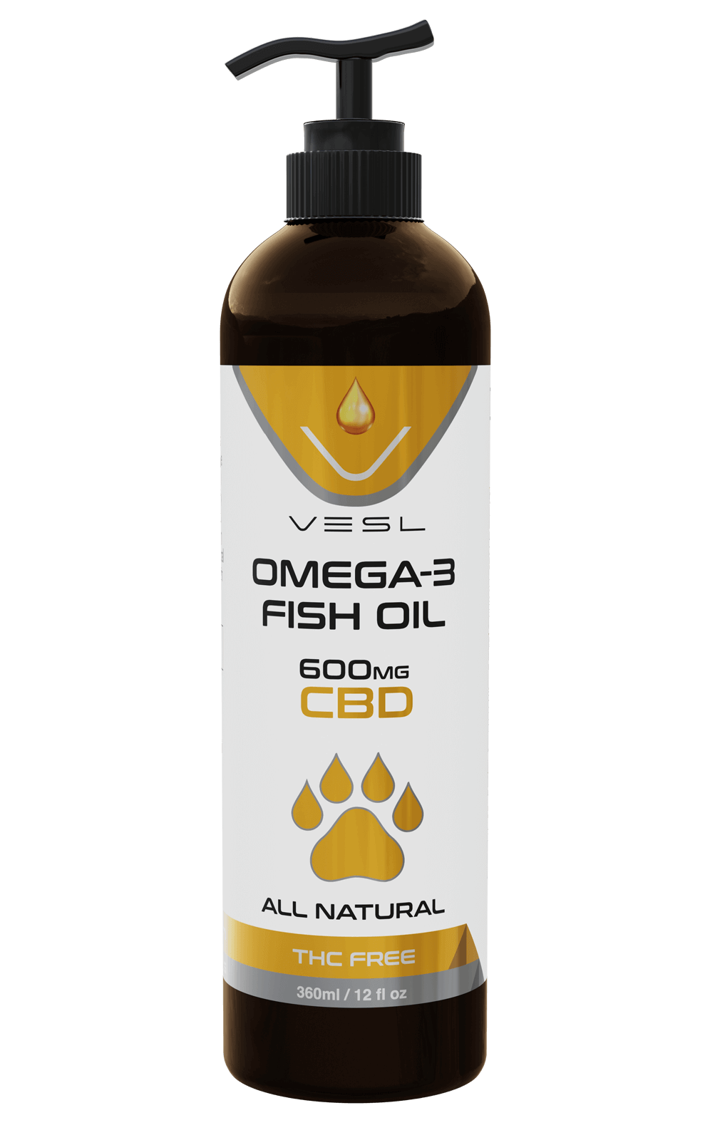 Fish oil for pet Enriched Omega-3 THC Free
