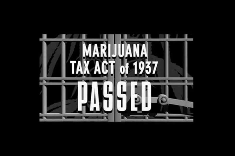 Marijuana Tax act of 1937 PASSED