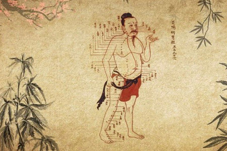 Asian ancestors using hemp