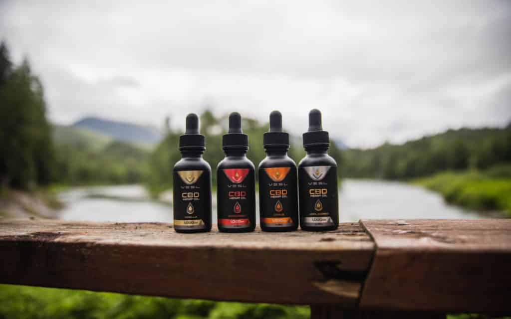 CBD tincture products