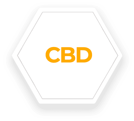 CBD Hexagon Shape icon