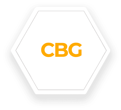 CBG hexagon icon