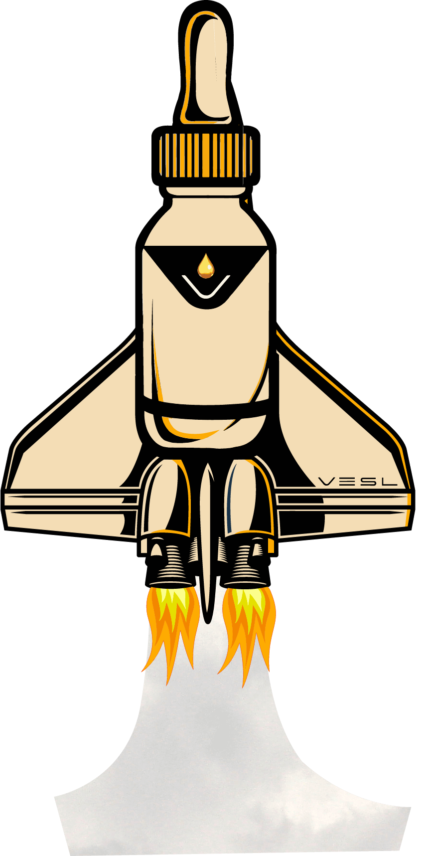 Vesl Oils Rocket Ship