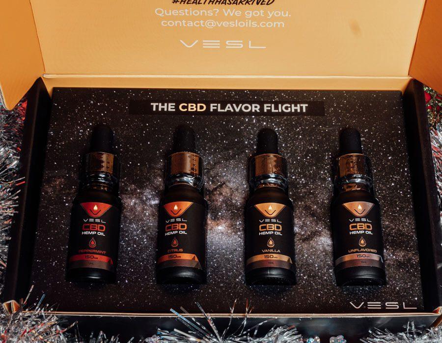 CBD Tinctures Bundle All Flavors