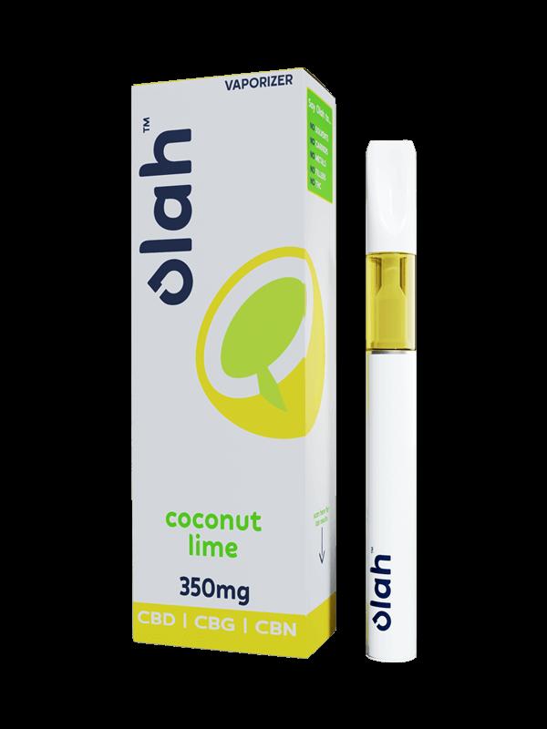 Vesl Oils product Olah vaporizer coconut lime flavor 350mg