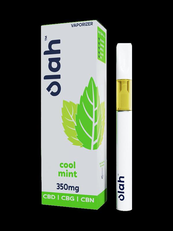 Vesl Oils product. Olah cbd vaporizer cool mint flavor 350mg