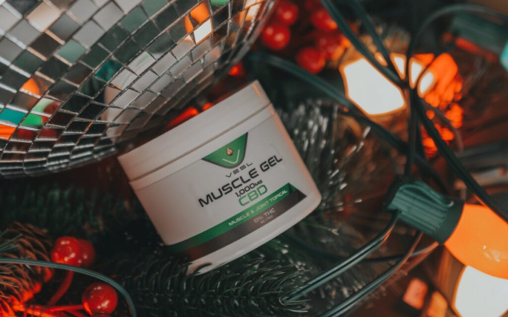 christmas spirit, cbd muscle gel, christmas gifts